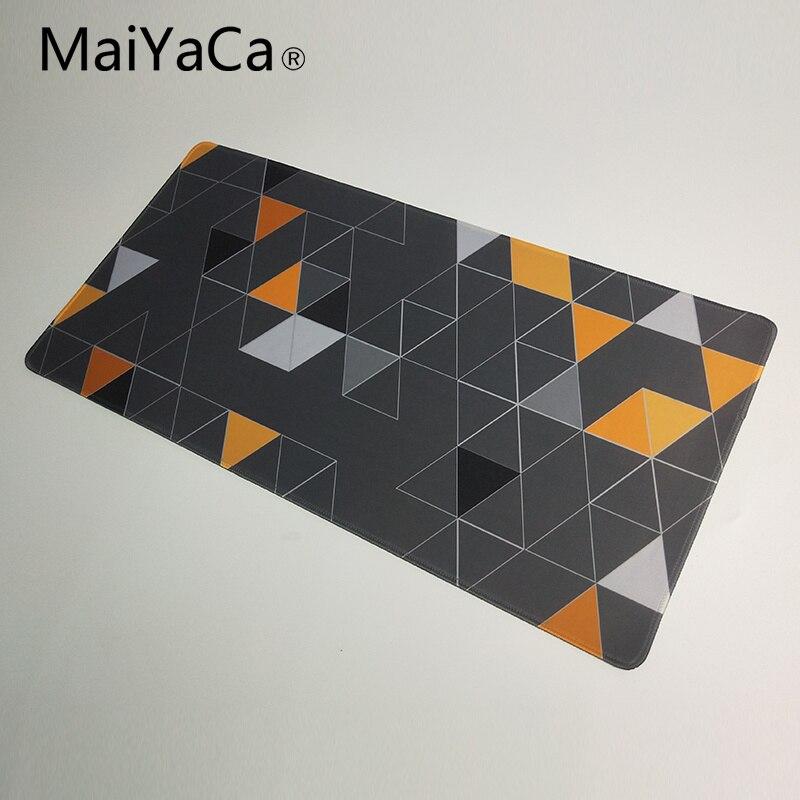 Maiyaca mouse pad para steelseries mouse triângulo papel de parede estendido grande gaming mouse pad para teclado e mouse 900*400mm