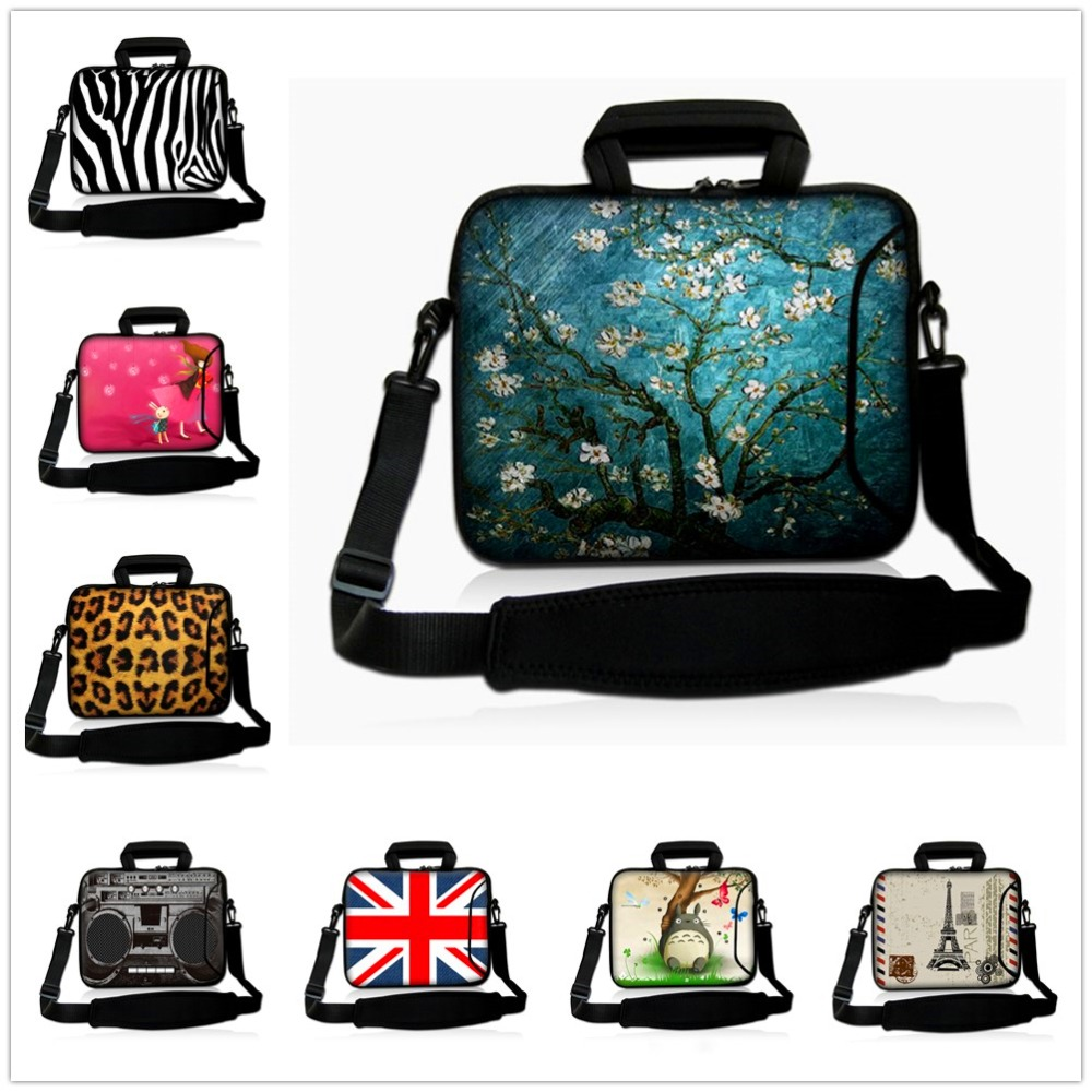 14 14.1 14.4 inch laptop shoulder bag notebook cases sleeve bags For Macbook HP Dell Lenovo Asus women men