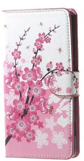 Butterfly Flip Wallet PU Flower Leather Cover Case For Asus Zenfone Go X00AD X00ADC X00ADA X00BD ZB500KG 5.0inch