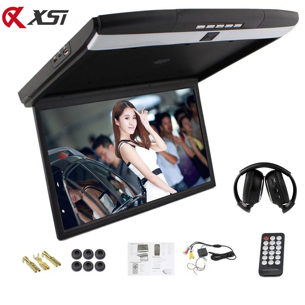 Xst 15 6 Inch Car Roof Flip Down Mount Monitor Led Screen