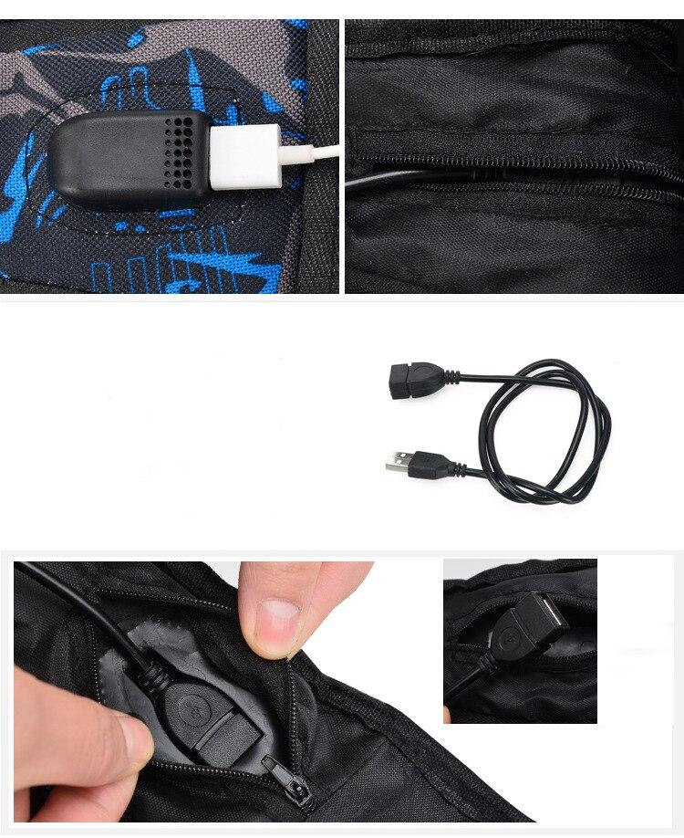 Sacs à dos de haute qualité 3pcs/ USB