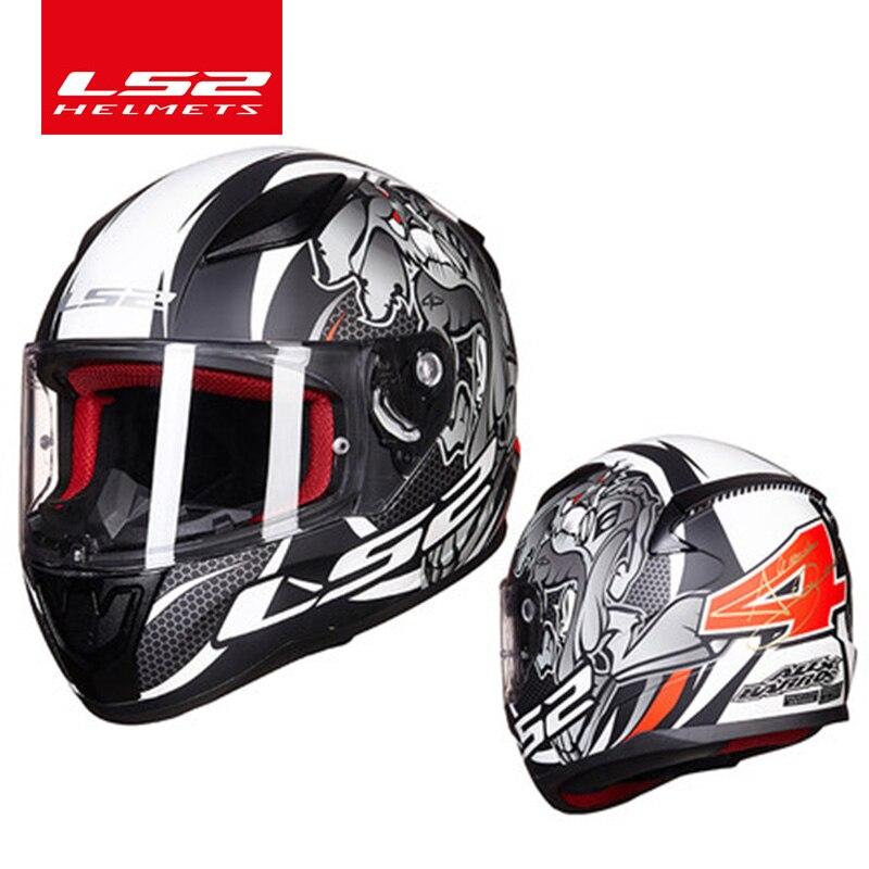 LS2 FF353 alex barros plein visage moto rcycle casque ABS sûr structure casque moto capacete LS2 rue Rapide racing casques ECE