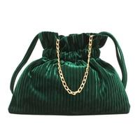 Women Reusable Shopping Bags Corduroy Canvas Tote Ladies Casual Shoulder Bag Foldable Beach Bags Red Blue Green Female Handbag