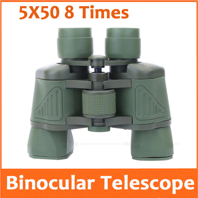 8X 50mm Telescope Binocular 8 Times Birthday Gift Educational Telescope for Outdoor tourism bird watching Travel Concert Camping