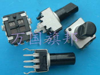 Delivery.09 B504 type 09320902 potentiometer 500K B500K Free long shank vertical shaft image