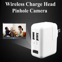Wifi Charge Head Camera Wireless Pinhole Surveillance Camera 720P CCTV Camera Security Cameras