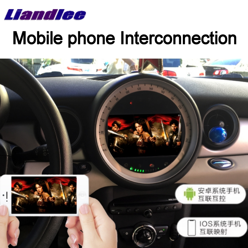Cheap Liandlee Car Multimedia No DVD Player NAVI For Mini Clubman R55 2007~2014 Android system Car Radio Stereo GPS Map Navigation 4