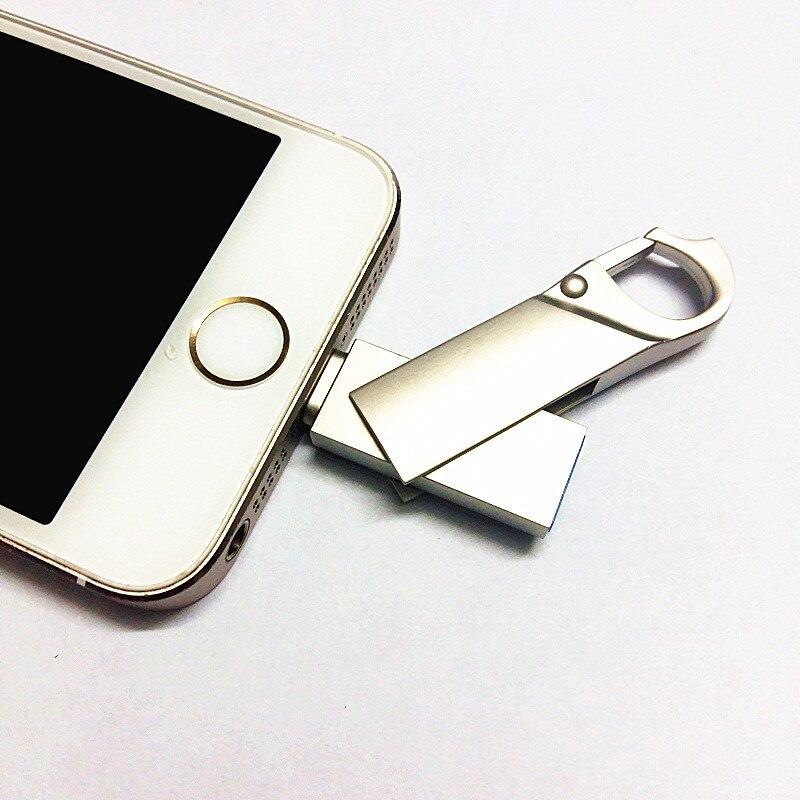 Достаточно i-Flash Drive 32 ГБ 64 ГБ - Внешнее хранилище - Фотография 3