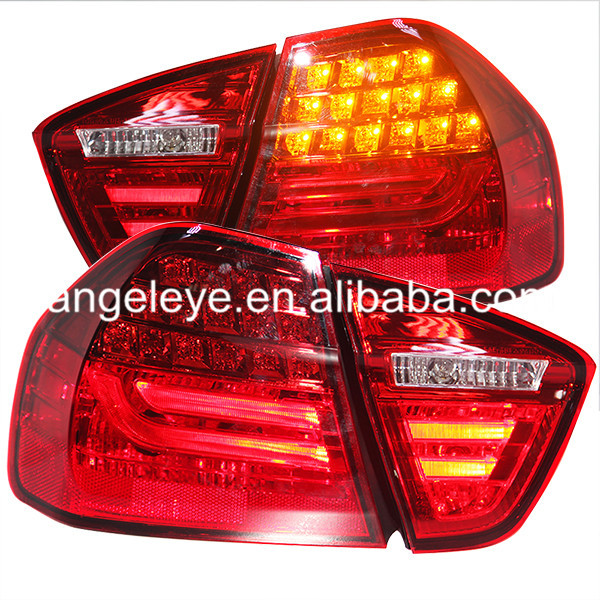 For BMW E90 3 Series 320i 323i 325 330 335 LED Tail Lamp 2005-2008 Full Red Color LF camber plates for bmw 3 series e46 320 323 325 328 m3 316 1998 2005 top mounts golden plates pillow ball golden