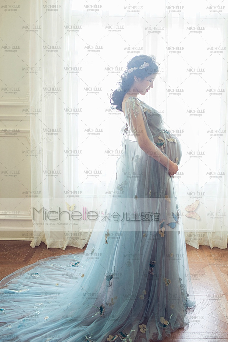 Aliexpress.com : Buy New Fancy Pregnancy Photo Shoot Studio Clothing ...