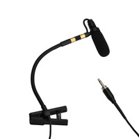 IM 20 3 Pin 4 PIN Mini XLR Plug 3.5mm Plug Music Instrument Microphone Omni Directional Type Sax Microphone