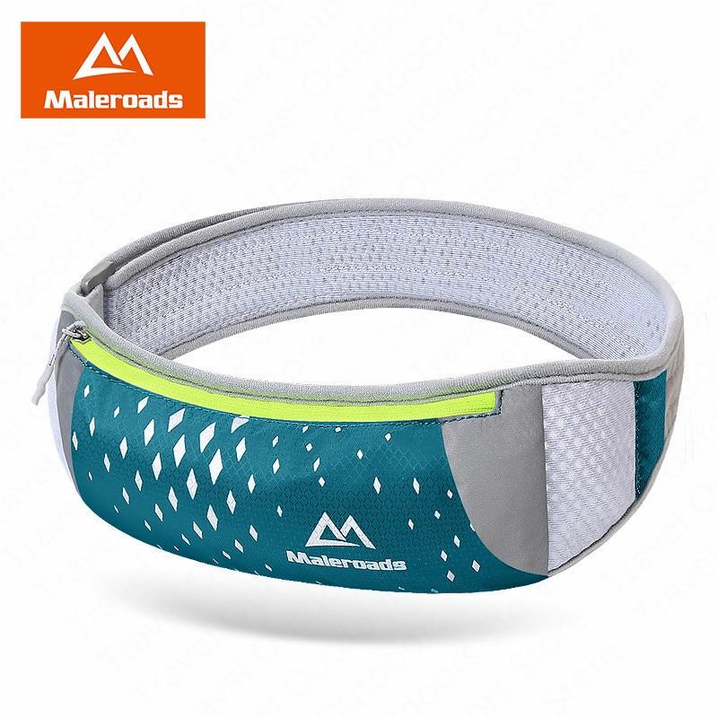 Maleroads Sports Running Waist Bag Running Belt Waist Bag Trail Runing Packs Phone Running Pouch Sports Accessories For Fitness
