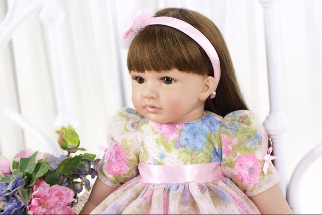 60cm Silicone Reborn Baby Doll Toys 24inch