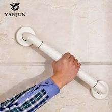 Yanjun Standard Kunststoff Haltegriff Bad Geländer Anti-slip Trapleuning Badewanne Zubehör Weiß YJ-2021