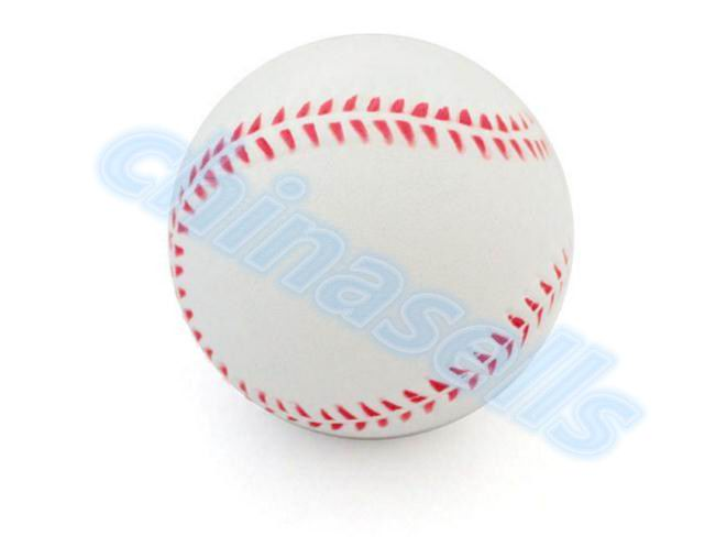 1pcs 9inch White Safety Kid Baseball Base Ball Practice Trainning PU Chlid Softball Balls Sport Team Game No Hand Sewing