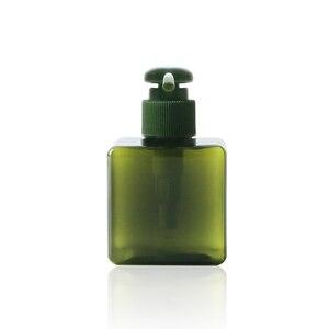 Image 3 - 1 adet kare şişe 150ml losyon şişesi büyük kapasiteli presleme duş jeli şampuan şişesi kozmetik dağıtım şişe BQ024
