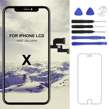 For iphone X XS Max XR LCD Display Screen For Tianma AMOLED OEM Digitizer with Touch Screen Assembly For iphone X LCD Screen все цены