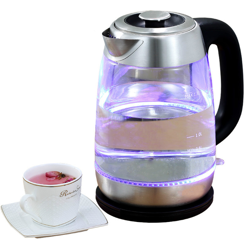 Electric kettle heating glass household automatic power cut small boiled tea 304 stainless steel clay pot eupa household electric kettle 304 stainless steel heat electric boiled tea kettle tsk 3170c