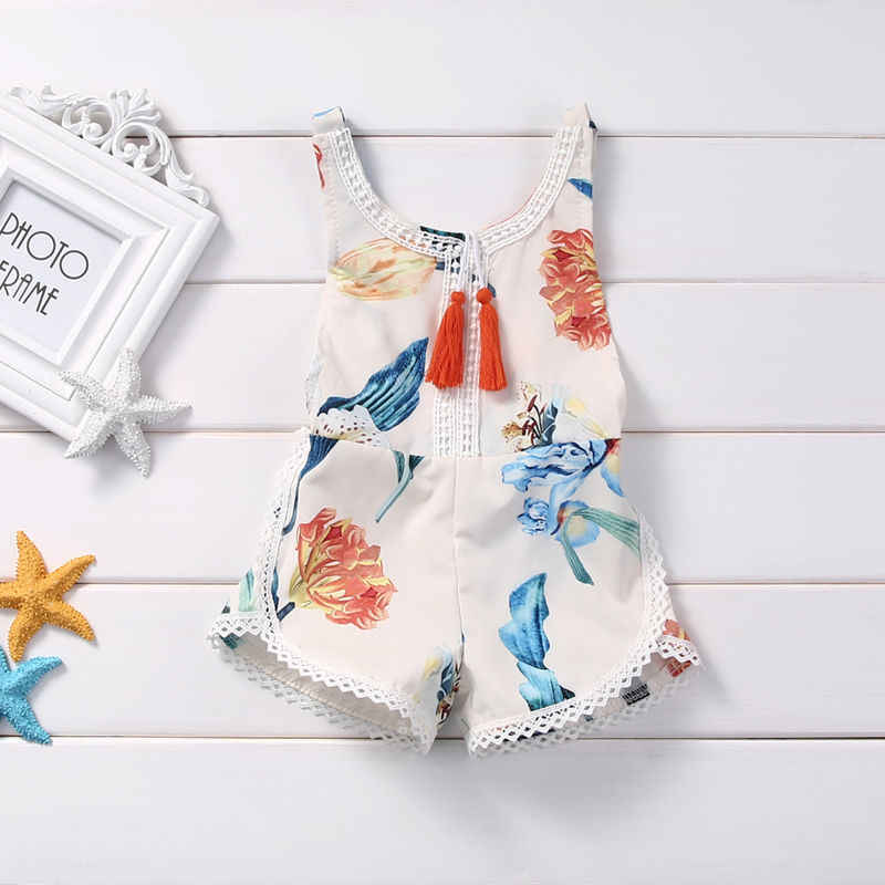 6ed25345b8c8 Detail Feedback Questions about Summer Baby Girls Romper Sleeveless ...