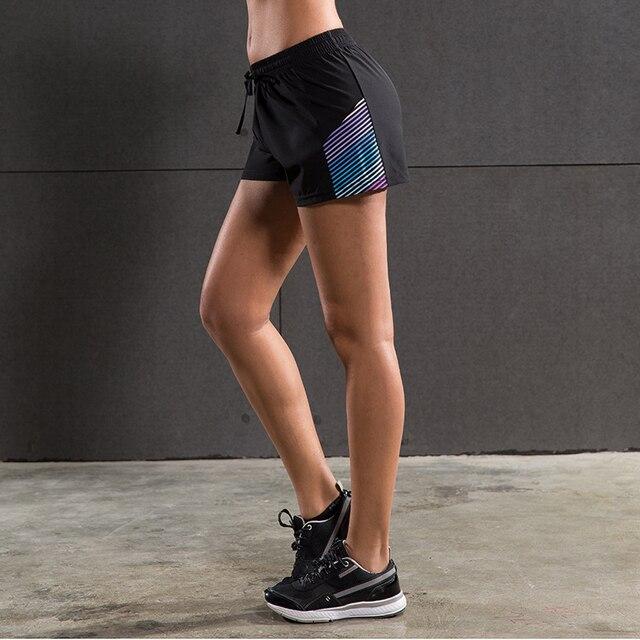 Mulheres Calções Esportes Yoga Fitness Exercício Ginásio Boxers Execução  Run Jogging Jogger Training Futebol Futebol Shorts d21c2fbec4608