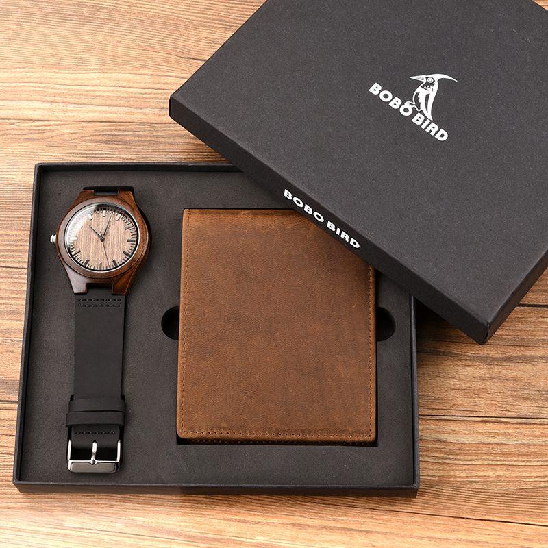 Men's Watch and Wallet Personalized Gift Set