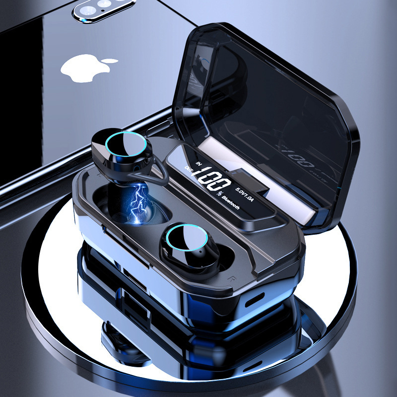 TWS Bluetooth 5.0 Earphone With Digital Display 3300mAh Charge Box Sport Waterproof Wireless Earphones for Samsung Galaxy Buds