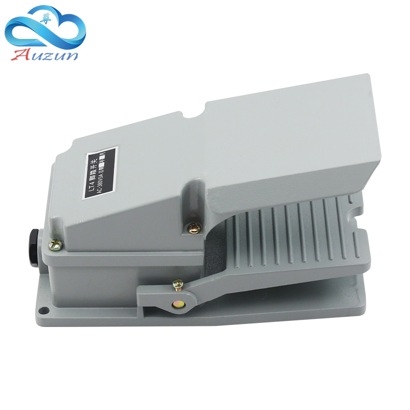 Image 5 - foot switch lt   4 pedal switch machine tool accessories AC 380 v 10a-in Switches from Lights & Lighting