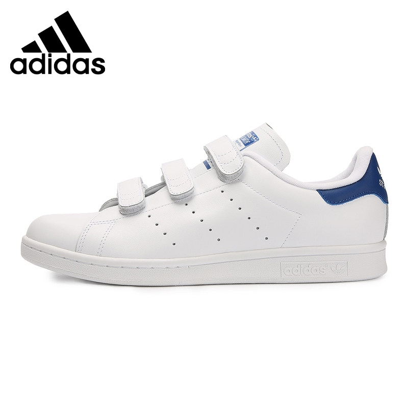 Original New Arrival Adidas Originals STAN SMITH CF Unisex Skateboarding Shoes Sneakers