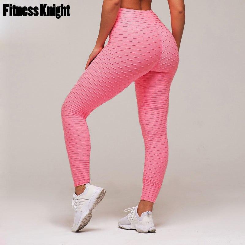 Yoga Hosen Hohe Taille Frauen Fitness Sport Leggings Solide Hip Push Up Workout Rennen Sport Hosen Weibliche Yoga Leggings Sportswear