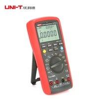 UNI T UT171A 40000 отсчетов True RMS цифровой мультиметры AC DC Вольт Ампер Oham Герц с USB Интерфейс ЖК дисплей Подсветка и хранения данных