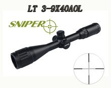 Hot Sale Tactical 3-9×40 Rifle Scope Come With Black Flip-open Lens Caps For Hunting BWR-030