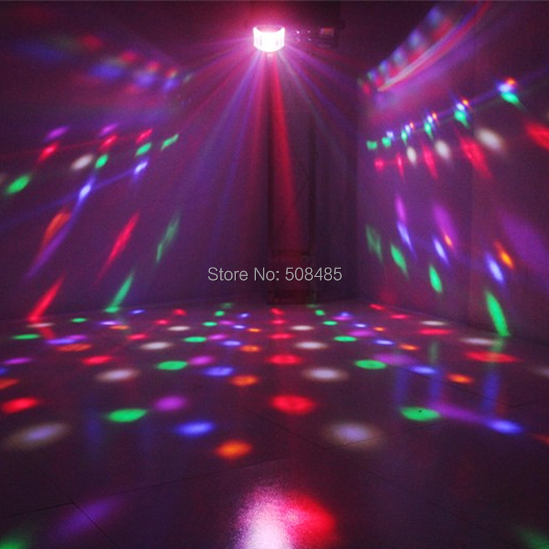 2018 Newest LED 4 in 1 Laser flash Gobo Strobe butterfly patterns light DMX512 KTV club Disco dj Multi-functional stage lighting