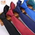 FÁCIL TOMA de Ropa Para Hombres Accesorios de Moda de Rayas Plaid 6 cm Lazo Corbata Gravata Delgada Corbata Para Hombre Corbatas Bolo