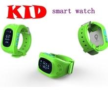 free shipping Smart watch Children Kid Wristwatch Q50 GSM GPRS GPS Locator Anti Lost Monitor Baby Gift birthday present