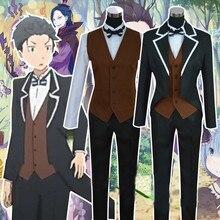 Anime Re Zero kara Hajimeru Isekai Seikatsu Natsuki Subaru Cosplay Costume  все цены