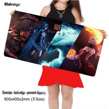 hot deal buy dota 2 large gaming mouse pad mousepad 22.5'' x 9