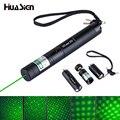 Высокое качество! высокая Мощность SD Лазерная 303 Зеленая Лазерная Pen Горящие Спички Lazer Laserpointer + Безопасный Ключ (без Батареи и Зарядное Устройство)
