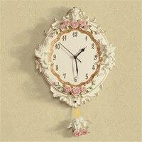 Большие часы настенные часы Винтаж таблицы Reloj де Cocina де сравнению ретро дома Пластик Тихая настенные часы современный Дизайн украшения 702763