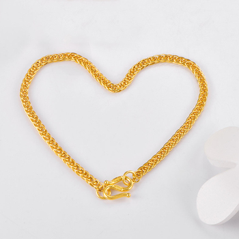 XX24K Pure Gold Bracelet Real 999 Solid Gold Bangle Shiny Charming Beautiful Trendy Classic Party Fine Jewelry Hot Sell New 2020 3