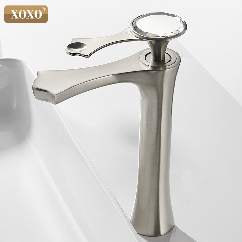 XOXO Basin faucet modern diamond black and gold bathroom sink faucets in the bathroom faucet mixer tap 20085G