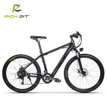 Richbit RT-800 Smart Electric Bicycle Mountain EBike 250W 36V Inner Removable Battery 21 Speeds Electric bike LCD Fornt Light