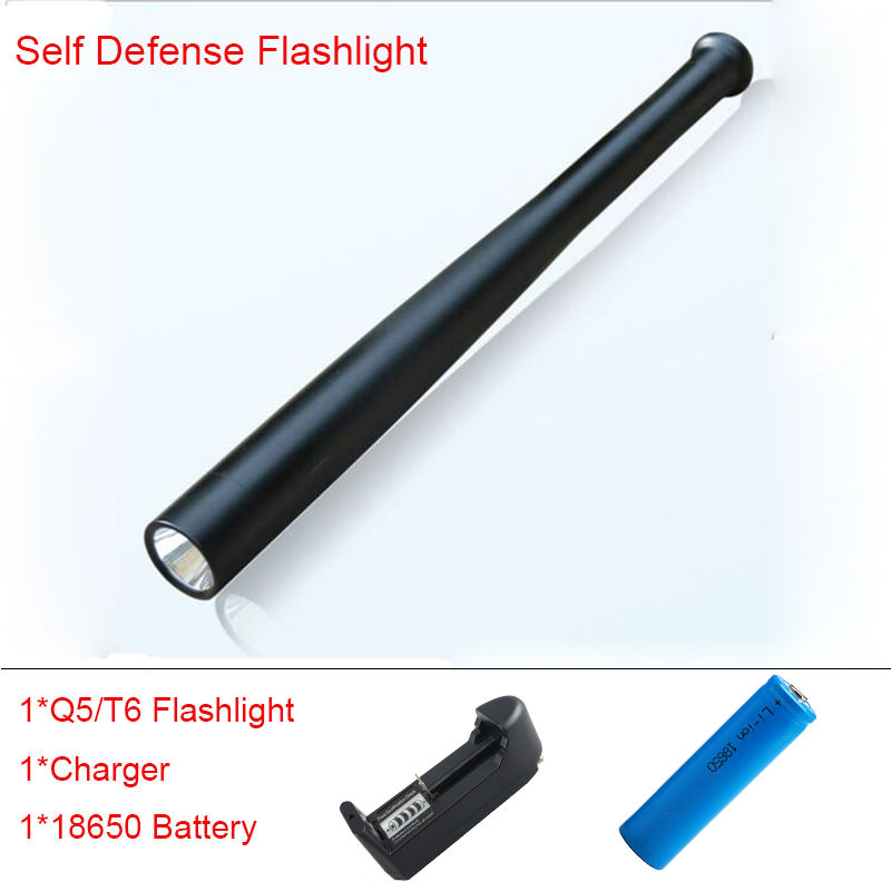 4000LM LED CREE XML-T6/Q5 Flashlight Tactical 5 Mode Flashlight For 18650 or 3*AAA Battery Torch for Emergency and Self Defense crazyfire led flashlight 3t6 3800lm cree xml t6 hunting torch 5 mode 2 18650 4200mah rechargeable battery dual battery charger