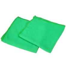 Dayanıklı 10 adet/takım 25*25CM Araba Yumuşak Mikrofiber Emici yıkama temizleme Havlu Kumaş Araba Için Kamyon Temizleme
