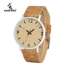 BOBO BIRD L E18 Stainless Steel Watches Men Quartz Watch Custom Logo Brand Designer Ladies orologio da polso OEM