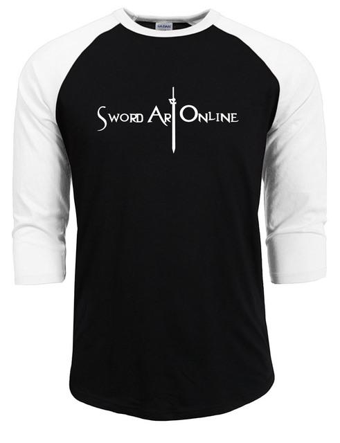 Sword Art Online T-Shirt Raglan Sleeve