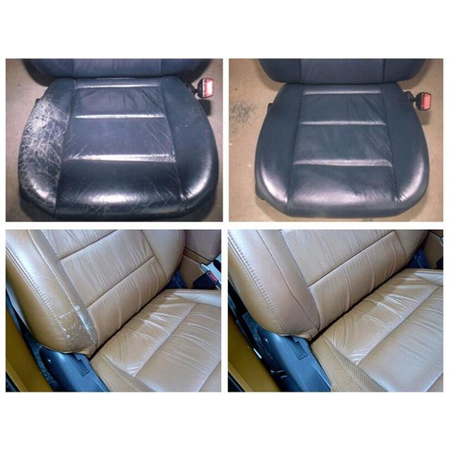 Liquid Skin Leather Auto Car Seat Sofa Coats Holes Scratch Cracks Rips No Heat Liquid Leather Vinyl Repair Kit Repair Tool