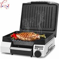 1 pc 220 V elétrica não-stick pan grill grill bife negócio da máquina de casa pão profissional máquina de bife