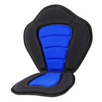 Soft Kayak Seat Cushion Pad Deluxe Padded Kayak Boat Seat Rowing Boat Padded Base High Adjustable Kayak Cushion with Backrest