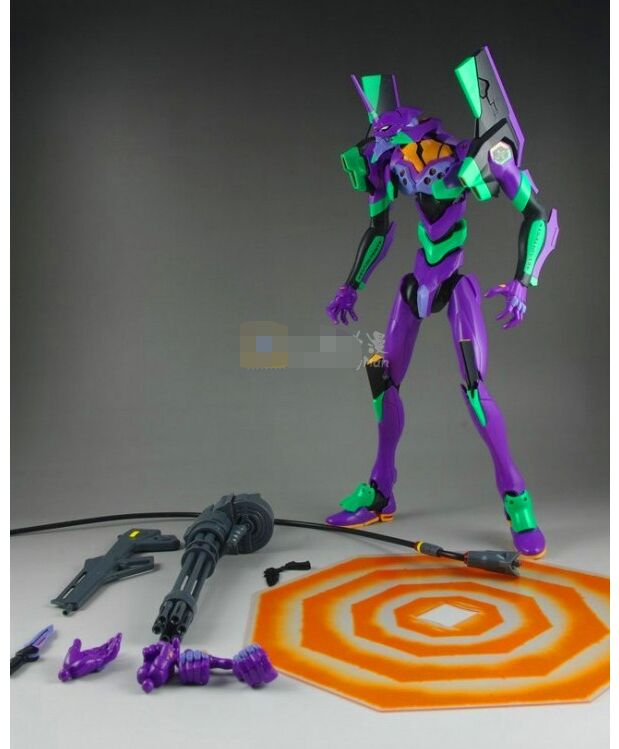 New EVA-01 MAF080 Anime NEON GENESIS EVANGELION EVA PVC  Action Figure Gift Toy