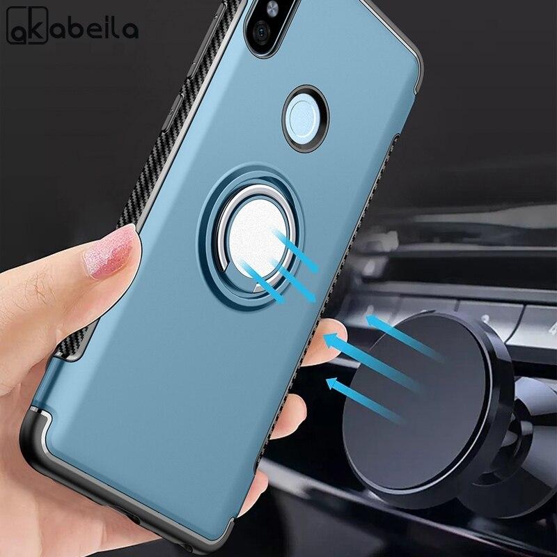 Coque magnétique avec support de voiture pour Xiaomi, étui pour Redmi Note 7 5 6 K20 8 Pro 6A 5A Prime 4X 4A Mi 9T 8 A2 Lite 9 MAX Note Mix 2 3